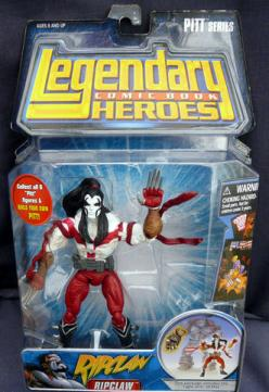 Ripclaw Legendary Comic Book Heroes action figure