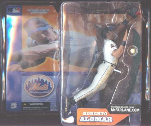 Roberto Alomar series 3, white uniform