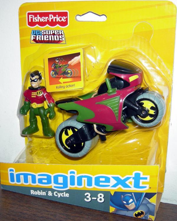 Robin Cycle Imaginext Fisher-Price DC Super Friends action figure