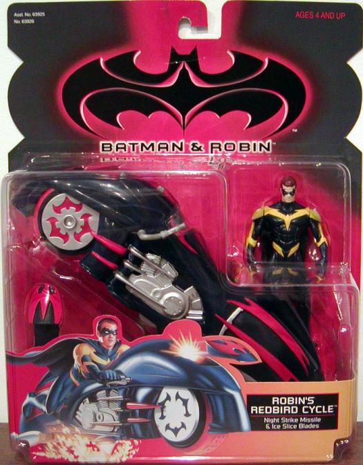 Robins Redbird Cycle Batman Robin