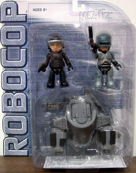 Robocop 3-Pack Mez-Itz