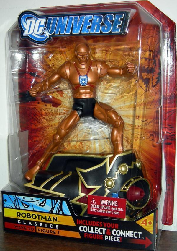 Robotman DC Universe Classics Action Figure Mattel