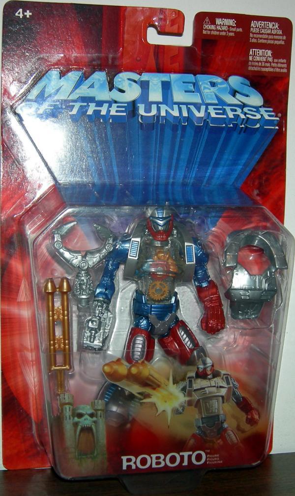 Roboto Figure Masters Universe He-Man Mattel