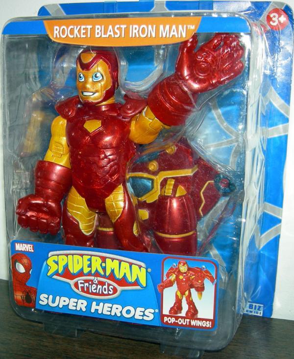 Rocket Blast Iron Man