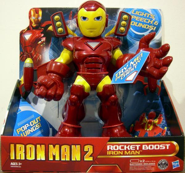 Rocket Boost Iron Man