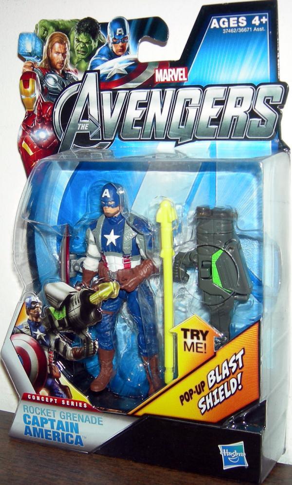 Rocket Grenade Captain America 04 Avengers