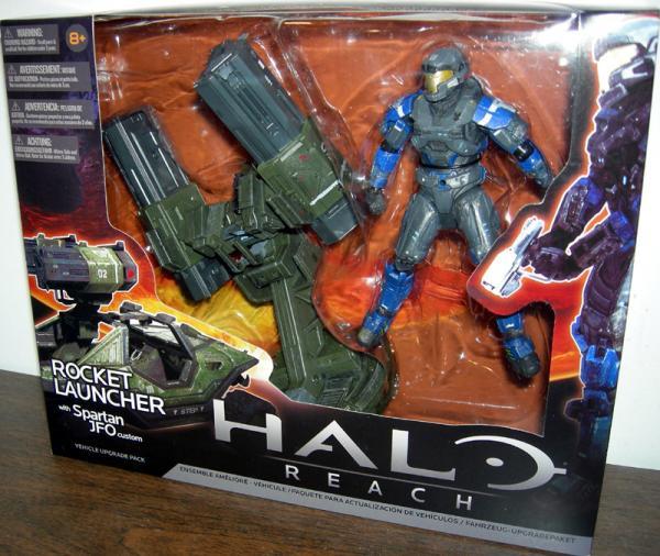 Warthog Rocket Launcher Halo Reach Spartan JFO Custom action figure