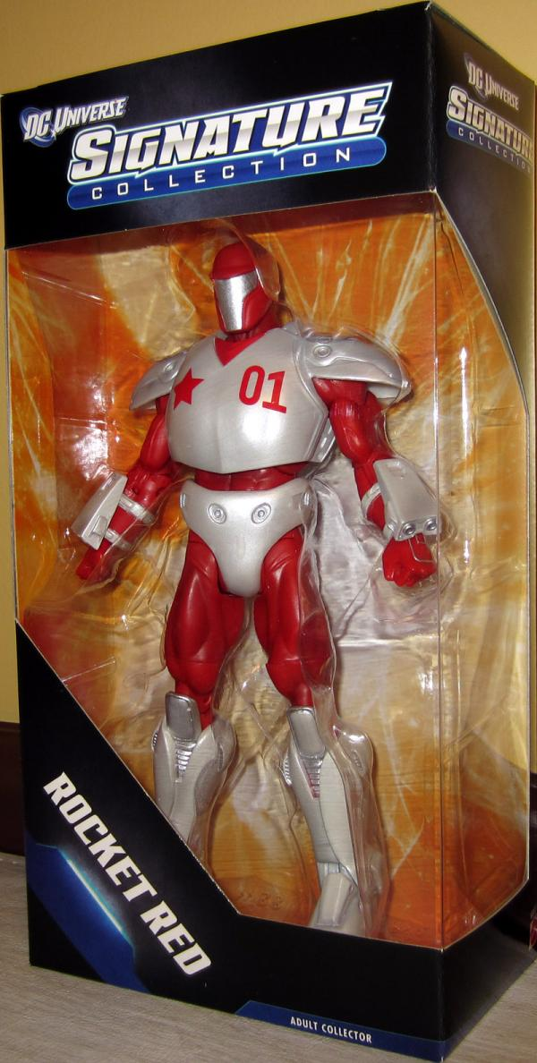 Rocket Red DC Universe Signature Collection action figure