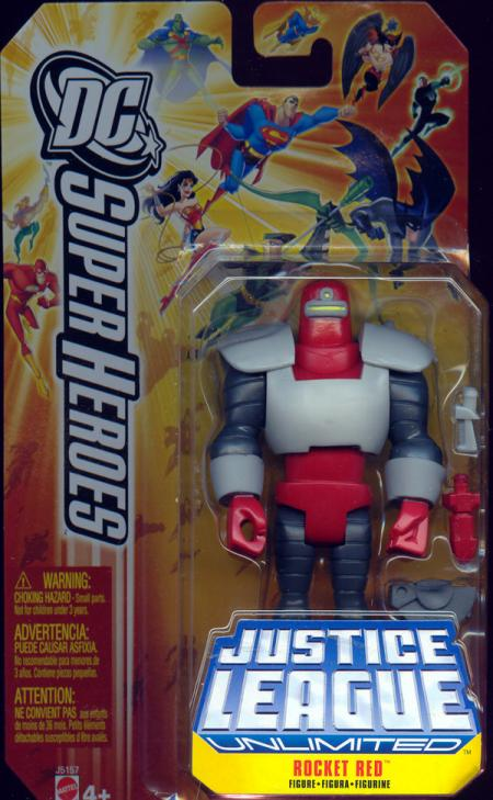 Rocket Red Figure DC SuperHeroes Justice League Unlimited