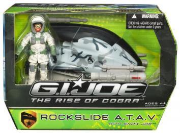 Rockslide ATAV Snow Job Rise Cobra action figure