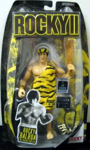 Rocky Caveman Rocky II Movie 1800 action figure