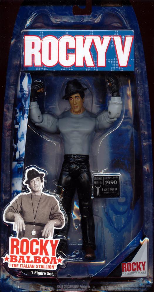 Rocky V street fight gear