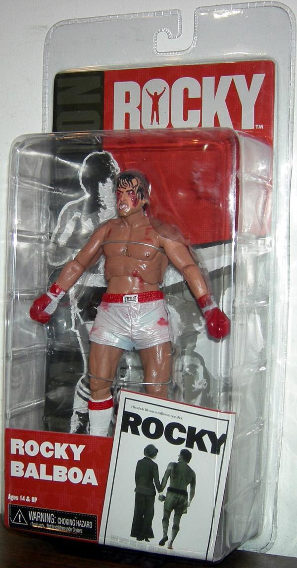 Rocky Balboa fight damage 2012 Neca action figure