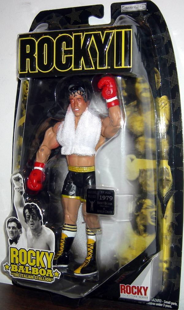 Rocky II post fight