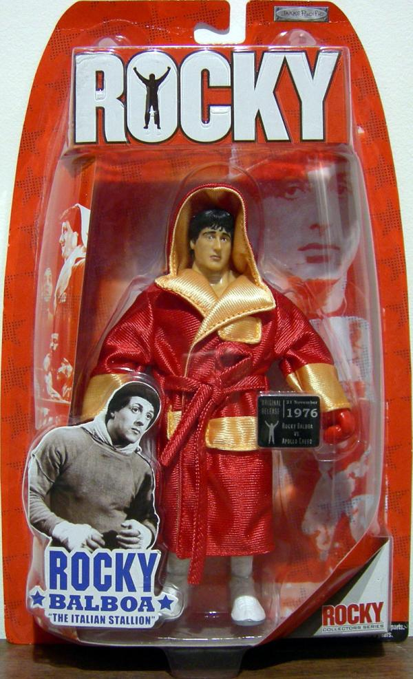 Rocky Balboa vs Apollo Creed pre-fight