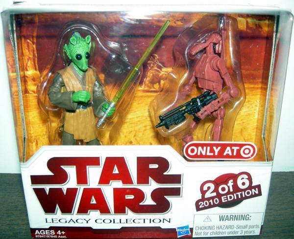 Rodian Jedi Battle Droid Figures Star Wars Legacy Collection