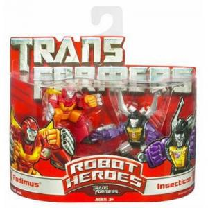 Rodimus Insecticon Robot Heroes