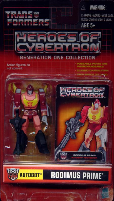 Rodimus Prime Heroes Cybertron
