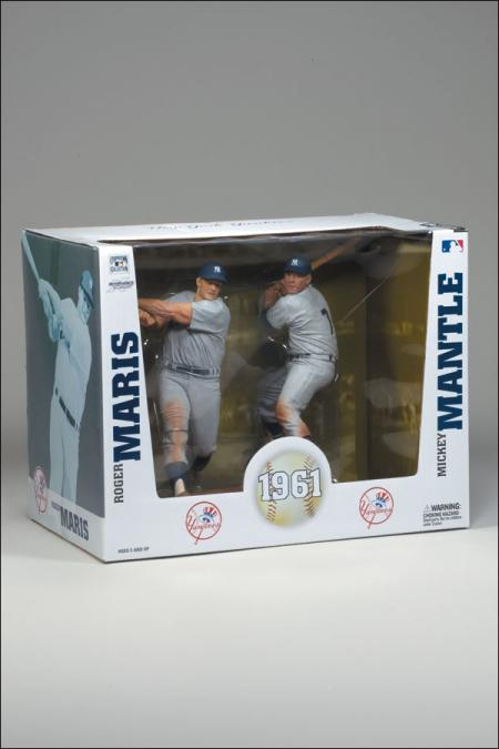 Roger Maris Mickey Mantle McFarlane SportsPicks action figures