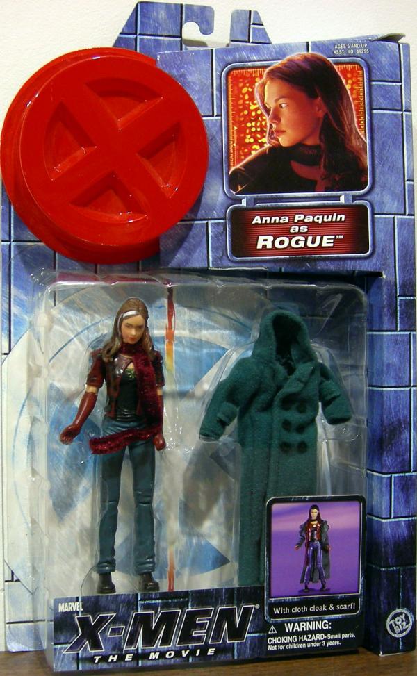 Rogue Action Figure X-Men Movie Anna Paquin Toy Biz