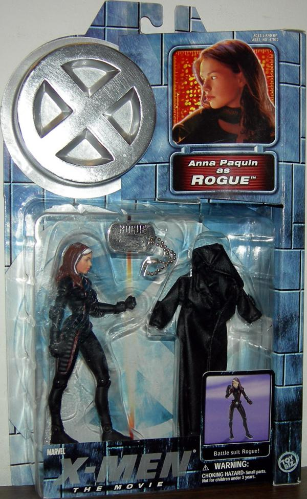 Rogue X-Men Movie Series 2 leather jacket action figure
