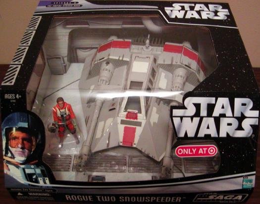 Rogue Two Snowspeeder Star Wars Saga Collection vehicle