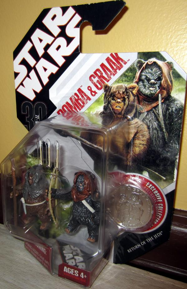 Romba Graak Figures 30th Anniversary Star Wars Return Jedi