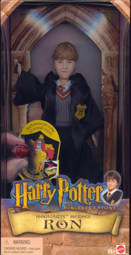 Ron Hogwarts Heroes Harry Potter Sorcerers Stone action figure