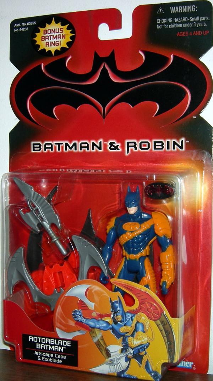 Rotorblade Batman Batman Robin, bonus Batman ring action figure