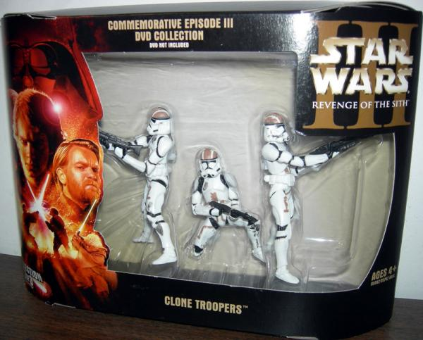 Revenge Sith DVD 3-Pack Clone Troopers Collection 3 3