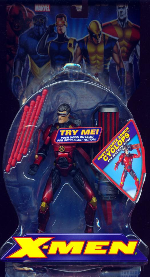 Ruby-Quartz Armor Cyclops X-Men 3