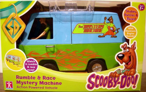 Rumble Race Mystery Machine UK version vechilce