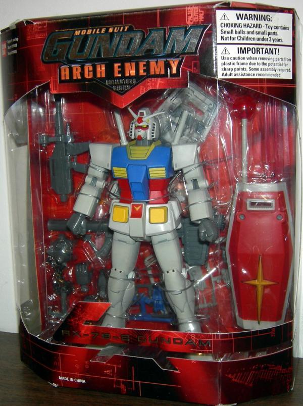 RX-78-2 Gundam Figure Arch Enemy Red Box Bandai