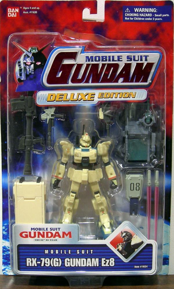 RX-79G Gundam Ez8 Figure Mobile Suit Deluxe Edition