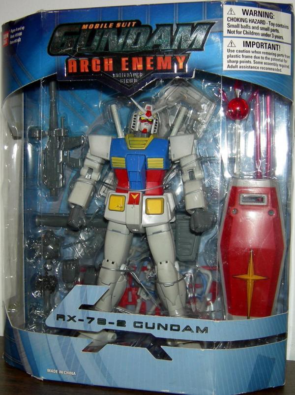RX-78-2 Gundam 7 1-2 inch Arch Enemy