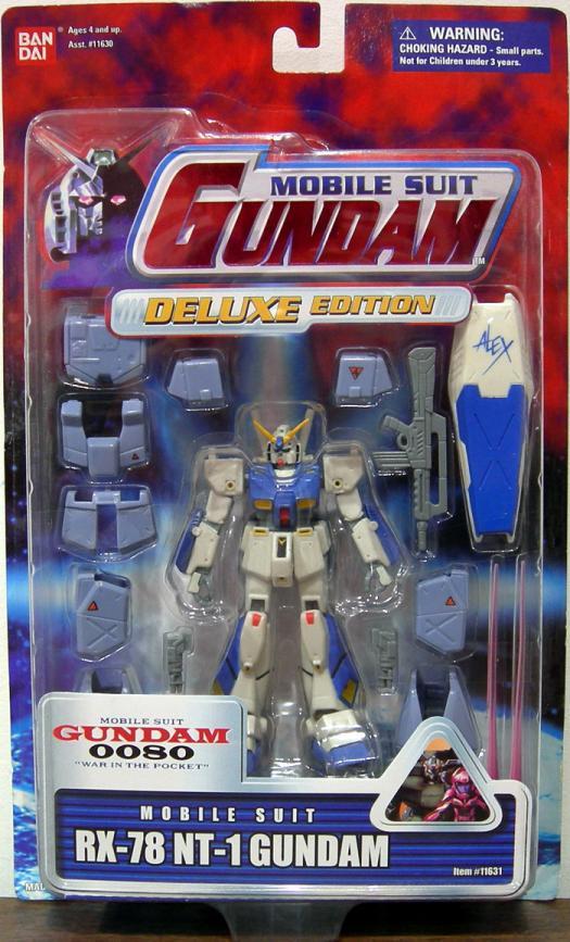 RX-78 NT-1 Gundam Figure Mobile Suit Deluxe Edition
