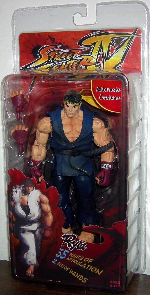 Ryu Figure Street Fighter IV Alternate Costume Neca