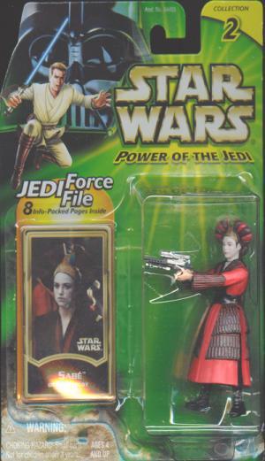 Sabe Action Figure Queens Decoy Star Wars Power Jedi