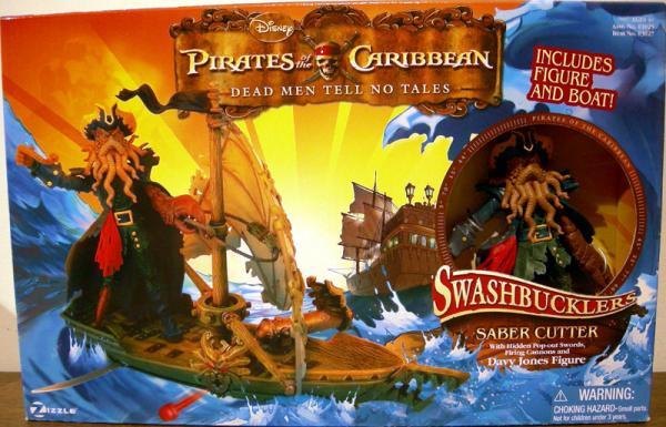 Saber Cutter Davy Jones Swashbucklers