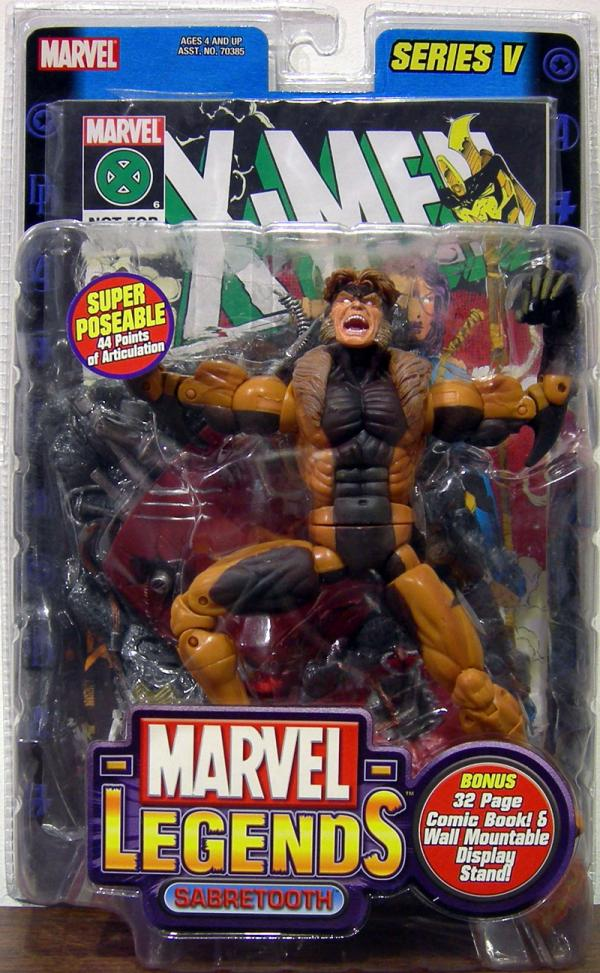 Sabretooth Marvel Legends