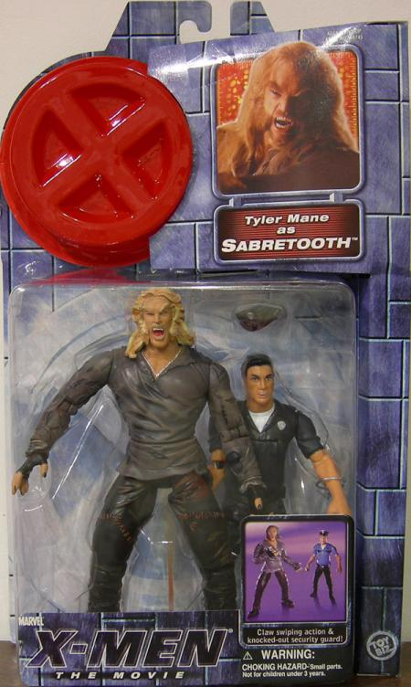 Sabretooth Figure X-Men Movie Tyler Mane Toy Biz