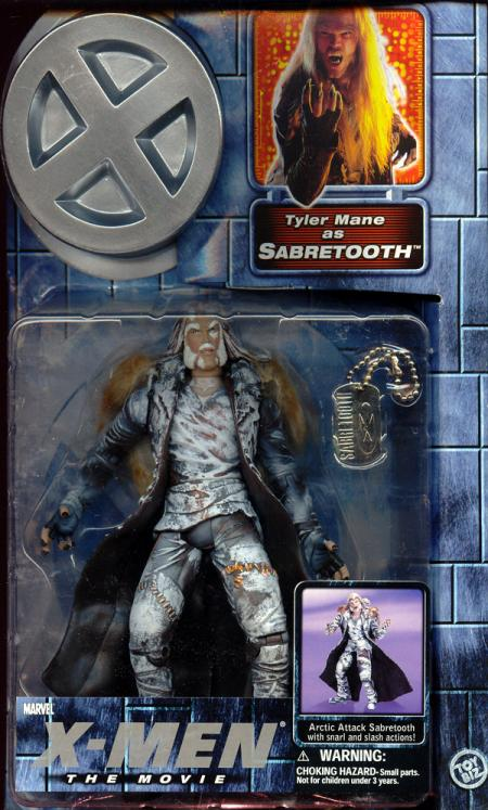 Sabretooth arctic attack movie series 2 action figure