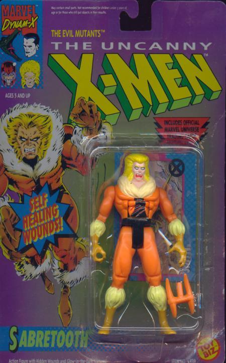 Sabretooth Self Healing Wounds X-Men Action Figure