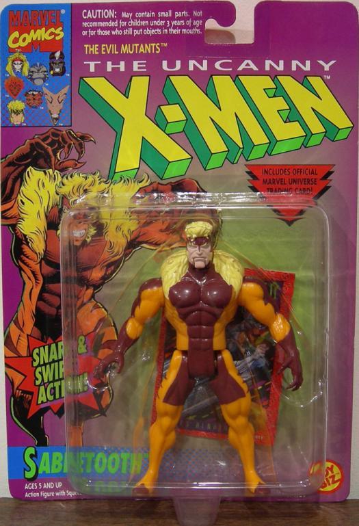 Sabretooth Figure Snarl Swipe Action Figure X-Men Toy Biz