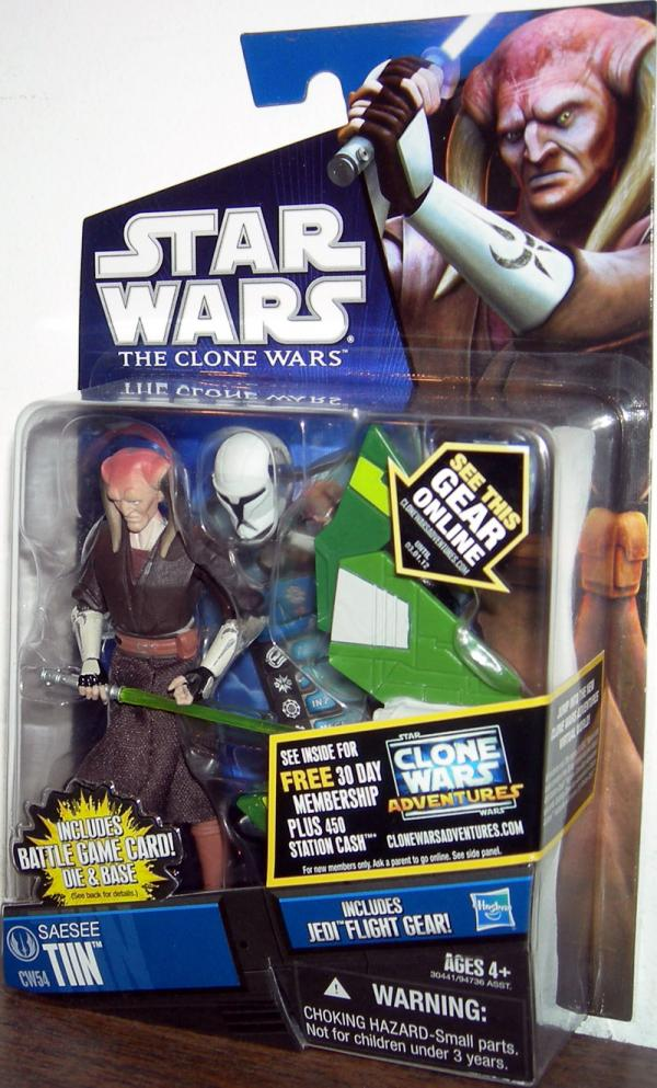 Saesee Tiin Action Figure CW54 Star Wars Clone Wars