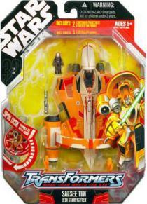 Saesee Tiin Jedi Starfighter Transformers