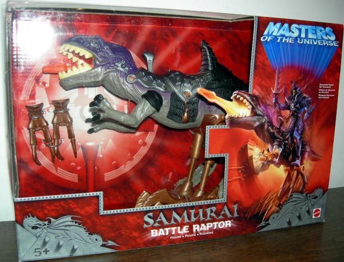 Samurai Battle Raptor Masters Universe He-Man action figure