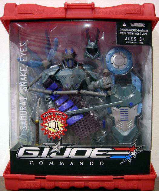 Samurai Snake Eyes Commando GI Joe action figure