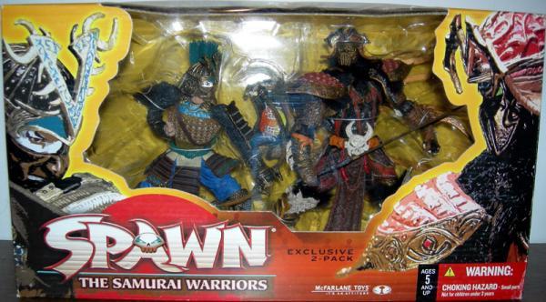 Samurai Warriors Figures Exclusive Spawn McFarlane Toys