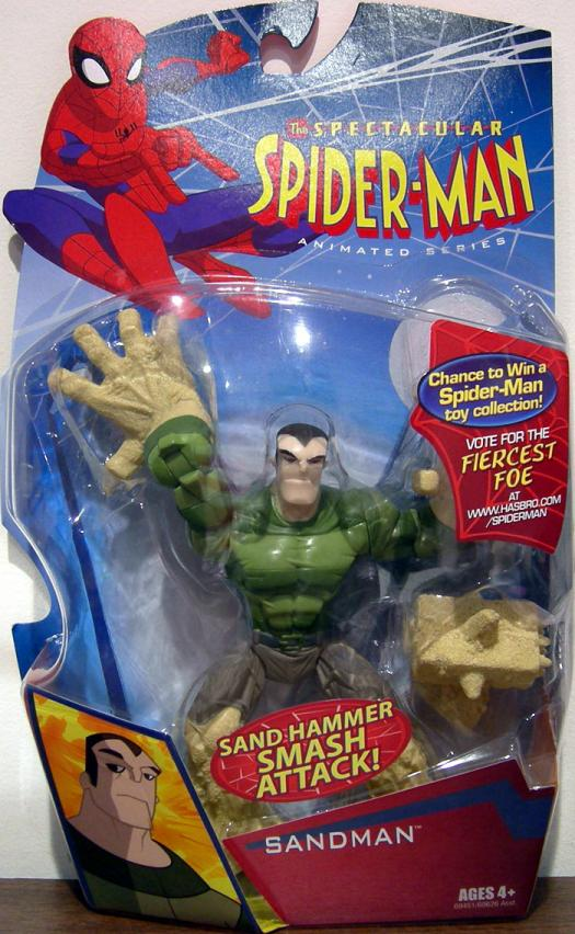 Sandman Action Figure Spectacular Spider-Man Animated Series